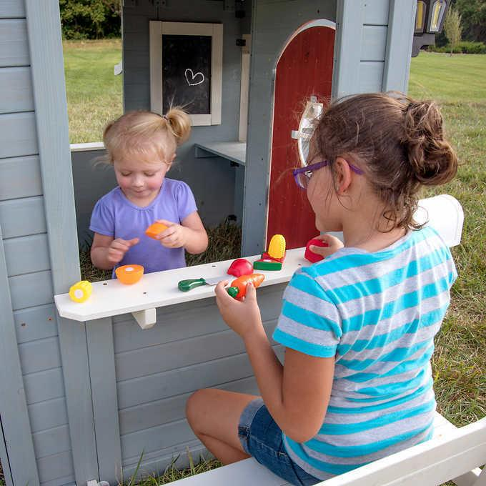 Backyard Discovery Cedar Playhouse