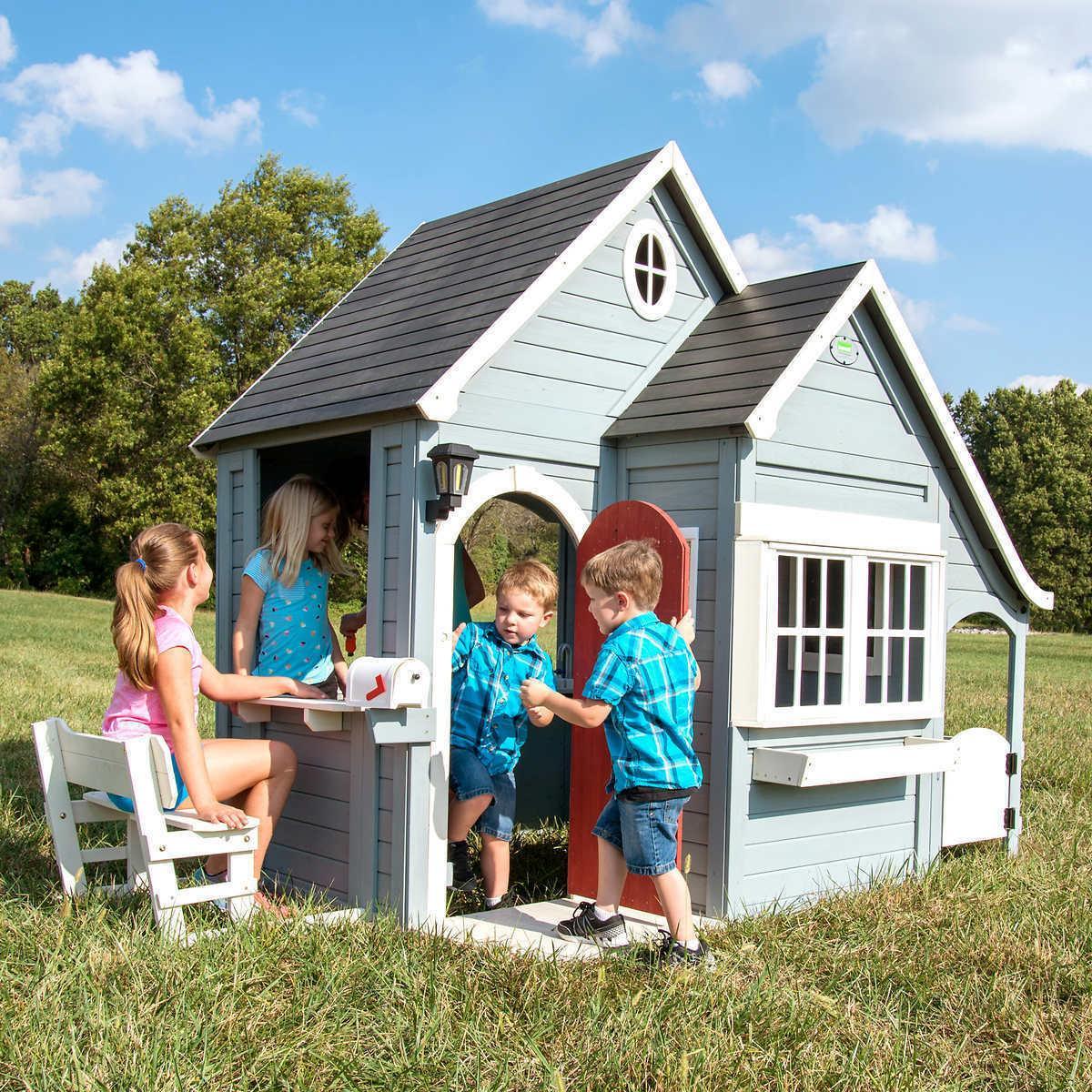 Backyard Spring Cedar Playhouse