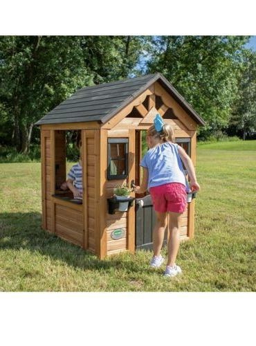 Backyard Discovery Cedar Wooden Playhouse