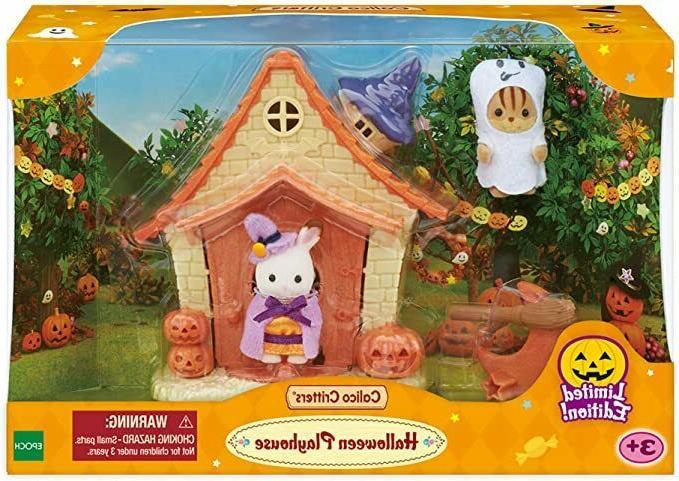 Sylvanian Families Halloween Toys Kids Critters Halloween Playhouse