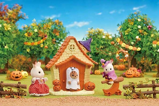 Sylvanian Happy Halloween Toys Halloween Playhouse