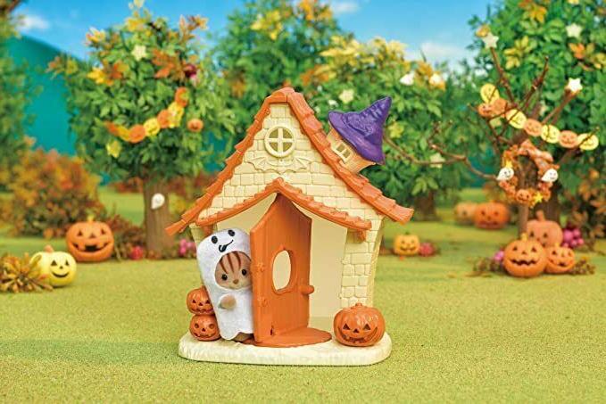 Sylvanian Families Calico Halloween Toys Kids Halloween Playhouse