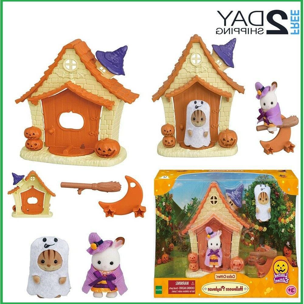 sylvanian families calico happy halloween toys kids
