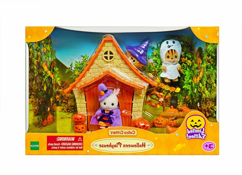 sylvanian families halloween haunted playhouse set
