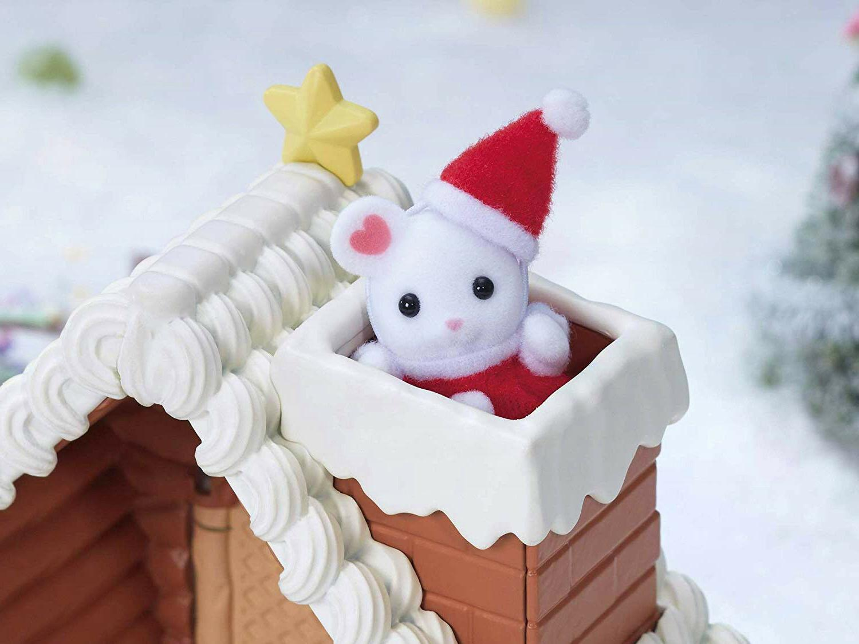 Sylvanian Critters Santa Gingerbread Set