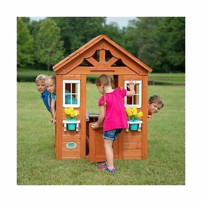 Backyard Cedar Wood Outdoor Play