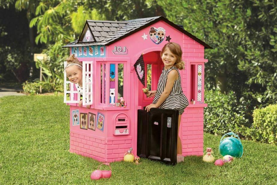 toddler playhouse indoor outdoor cottage kid child