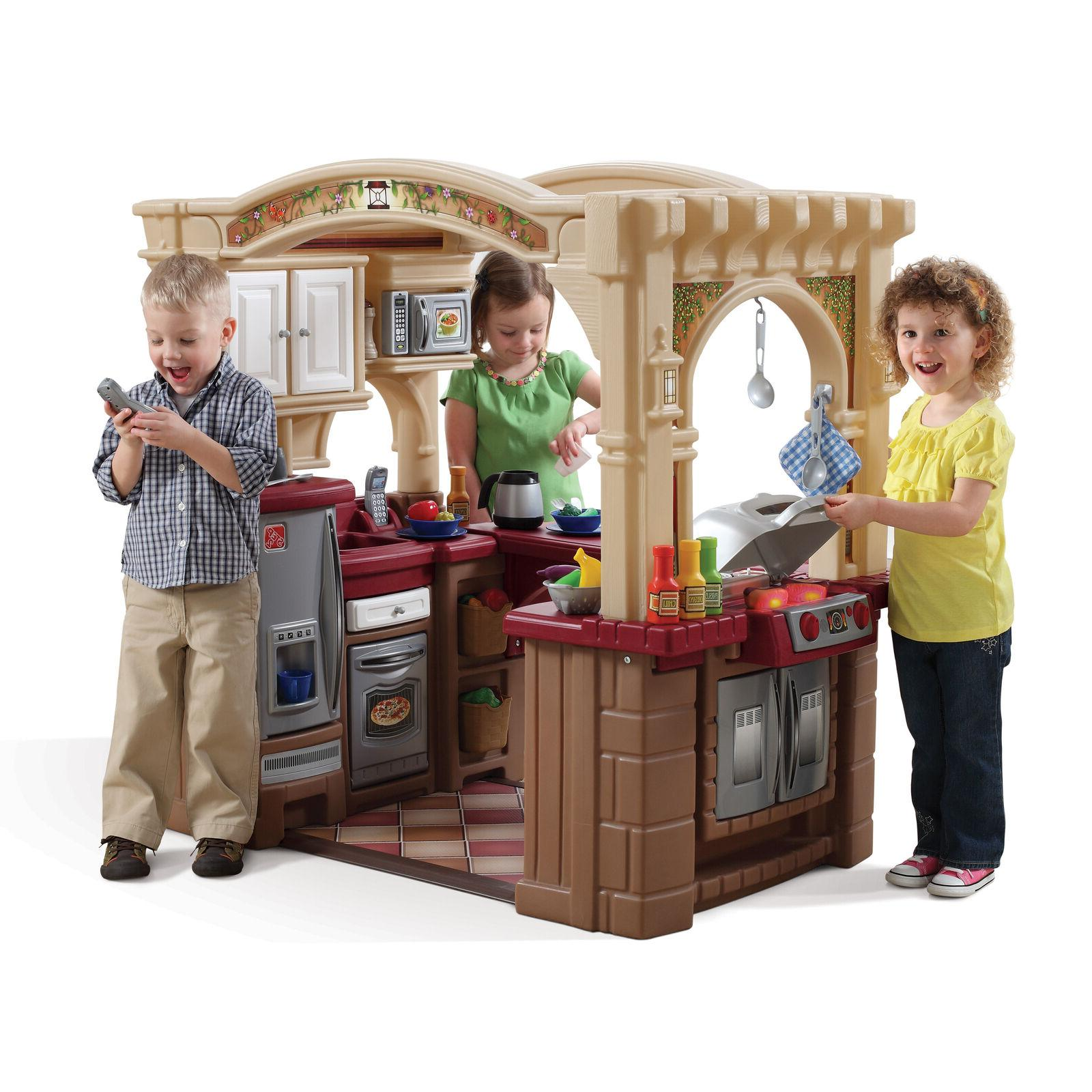 Walk Play Toy for Toddler Small Child Pretend Playhouse