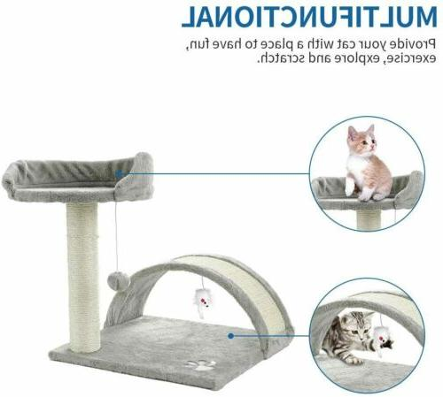 ScratchMe Tree Condo Scratching Post Pet House