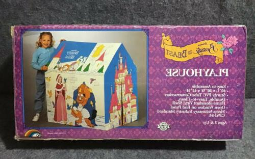 Vintage 1980s ERO Disney Beauty & The Beast Slumber Kids Ten