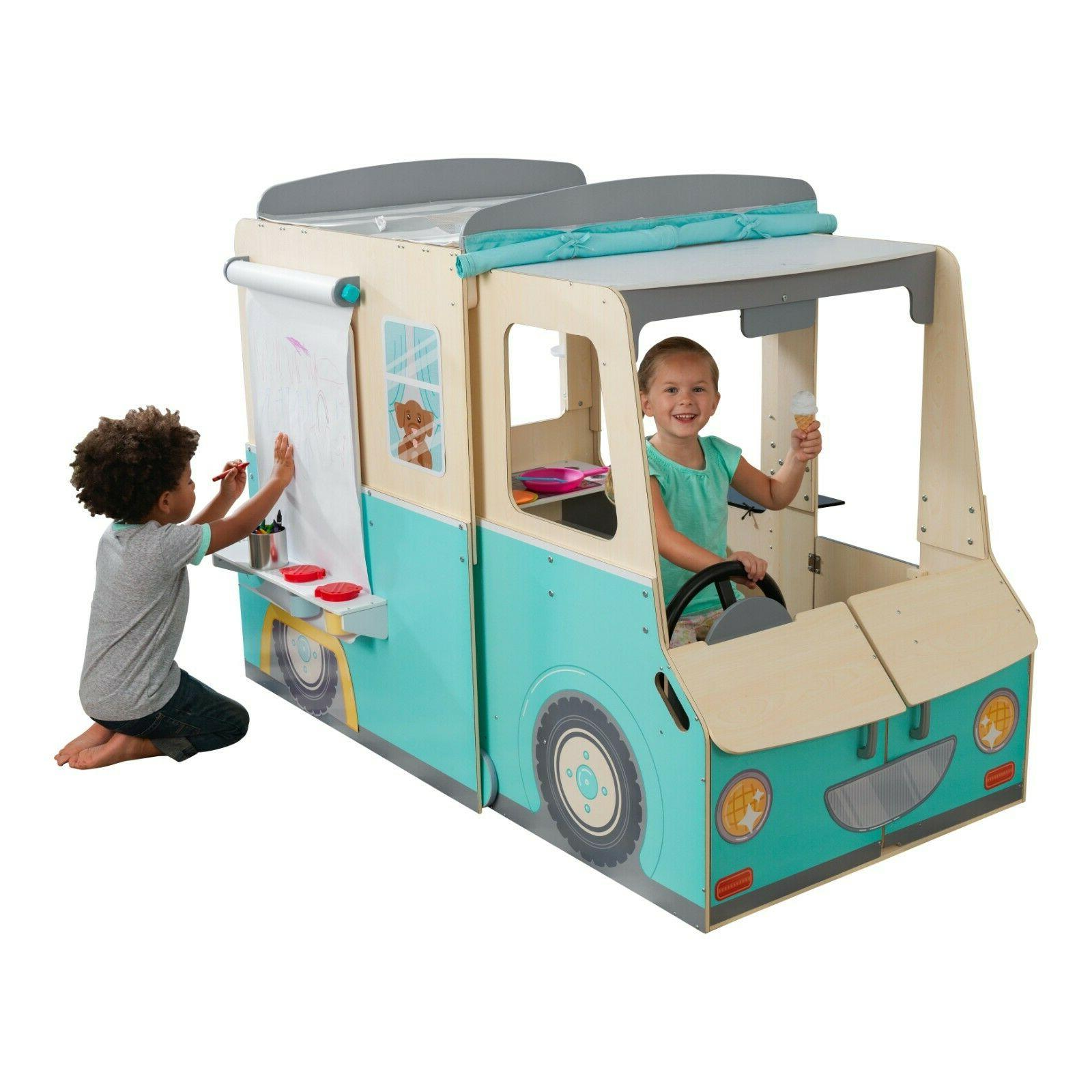wondervan indoor playhouse with art center play