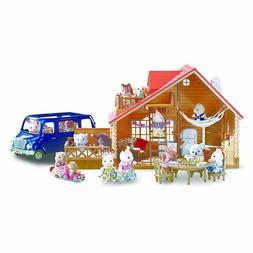 Calico Critters Lakeside Lodge  Family play house, Van .