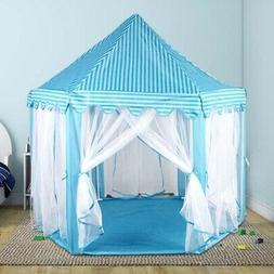Large Children's Kids Tent Toy  Princess Play House Castle B