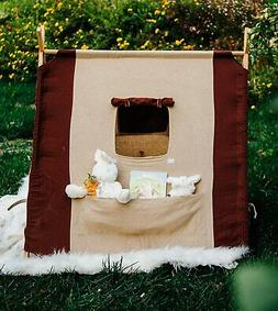 linen teepee playhouse