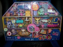 LITTLEST PET SHOP KMART EXCLUSIVE 9 PETS IN PLAYHOUSE W/ACCE
