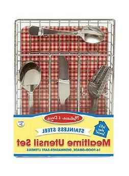 Mealtime Utensil Set - Kitchen Play by Melissa & Doug
