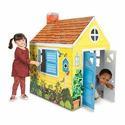 Melissa & Doug Country Cottage Indoor Playhouse