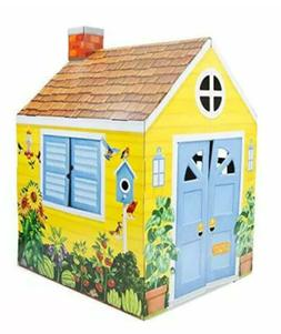 Melissa & Doug Country Cottage Indoor Playhouse Role-Play Ce