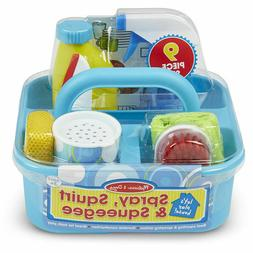 MELISSA & DOUG Let's Play House Spray Squirt & Squeegee  ite