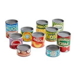 Melissa & Doug Play House! Grocery Cans, Pretend Play, Sturd