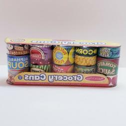 Melissa & Doug Pretend Play House Grocery Cans 10 Cardboard