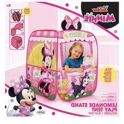 Disney Minnie  Lemonade Stand Indoor/Outdoor Play Tent Play