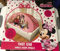 Minnie Mouse Bed Tent Kids Playhouse Princess Fun House Cast