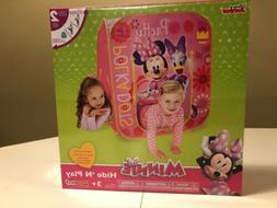Playhut Minnie Mouse Hide N Play Playhouse Pink