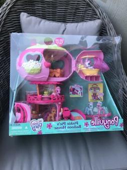 My Little Pony Ponyville Pinkie Pie's Balloon Playhouse & Po