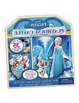 NEW Disney Frozen 35 Piece Wooden Playhouse Castle Elsa Anna