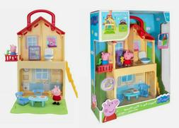 NEW SEALED 2020 Peppa Pig Peppa's Pop n Play House Set 7 Pie