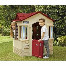 Kids Club House Hot Pink Outdoor Plastic Play House Girls Ba