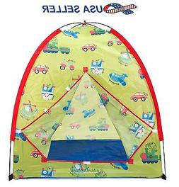 Outer Space Science Camp Play Ball Tent House w/ Safety Mesh