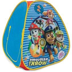 Paw Patrol Classic Hideaway Kids Playhouse Hut Play Tent Blu