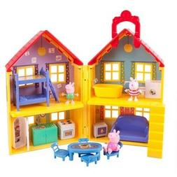 Peppa Pig Peppa's Deluxe House Play Set Playhouse Kids Toddl