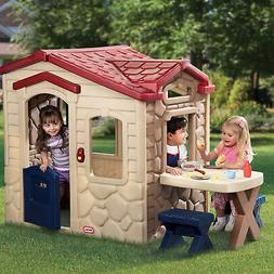 Little Tikes Picnic on the Patio Playset Playhouse Childrens
