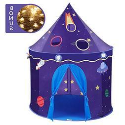 Wonder Space Children Play Tent - Premium Space Rocket Castl