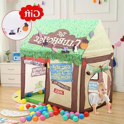 Play Tent For Kids House Foldable Baby Toy Tent Playhouse Ou