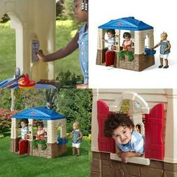 Playhouse Backyard Kids Outdoor Yard Fun Play House Children