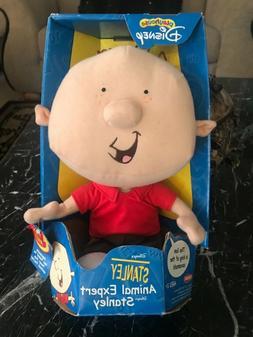 "Disney Playhouse PJ Stanley Doll TALKING Stuffed plush 13"""