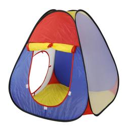 Playhouse Tents Pop-up Play Tent with Tunnel for Kids Girls