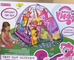 My Little Pony Ponyville Indoor Play Tent Playhouse with Pla