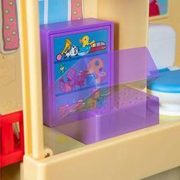 Peppa Pig Pop n' Playhouse and Play n' Go Campervan Comb