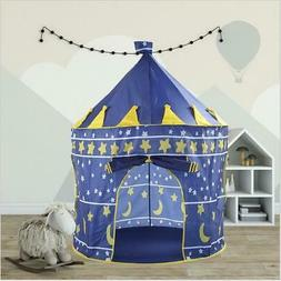 Portable Pop Up Play Tent Kids Girl Princess Castle Outdoor