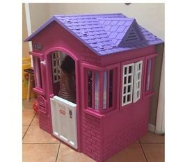 Little Tikes Princess Cottage Playhouse Kids Backyard Indoor