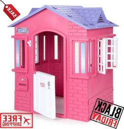 princess cottage playhouse pink for kids