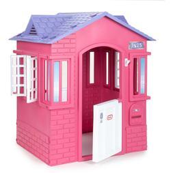 Princess Cottage Playhouse Pink Little Tikes Lightweight Eas