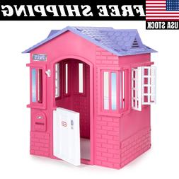 Little Tikes Princess Cottage Playhouse Pink Lightweight Eas