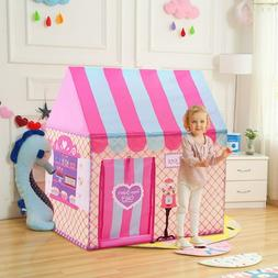 Princess Play Tent Playhouse Unique Castle Design for Kids I