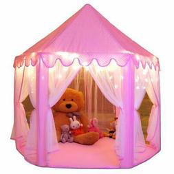 Monobeach Princess Tent Girls Large Playhouse Kids Castle Pl